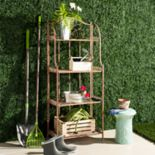 Safavieh Indoor / Outdoor 4-Shelf Tiered Bookshelf