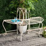 Safavieh Indoor / Outdoor Semi-Circle Bench