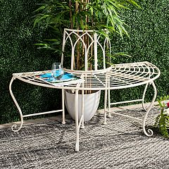 Safavieh Indoor / Outdoor Semi-Circle Bench