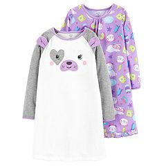Toddler Girl Carter's 2-pack Puppy Dog Nightgowns