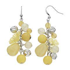 Bead Cluster Drop Earrings