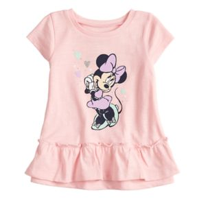 Disney's Minnie Mouse Baby Girl Ruffled-Hem Tee by Jumping Beans®