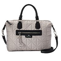 Juicy Couture Crown Jewel Quilted Satchel