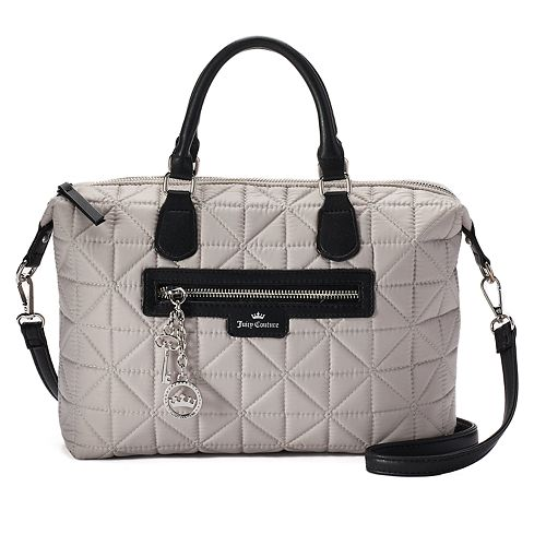 ded449cb7e Juicy Couture Crown Jewel Quilted Satchel