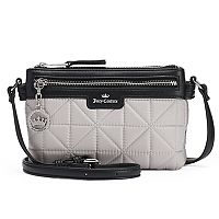 Juicy Couture Crown Jewel Quilted Crossbody Bag