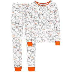 Baby Girl Carter's Halloween Ghost Top & Bottoms Pajama Set