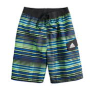 Boys 8-20 adidas Vara Stripe Swim Trunks