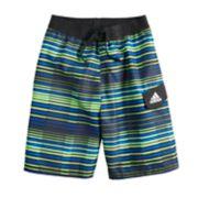 Boys 8-20 adidas Vara Stripe Swim Trunks