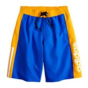 Boys 8-20 adidas Billboard Swim Trunks
