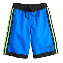 Boys 8-20 adidas Core Iconic Swim Trunks