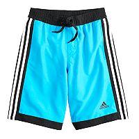 Boys 8-20 adidas Core Iconic Swim Trunks