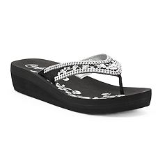 Women's Candie's® Delilah Wedge Sandals