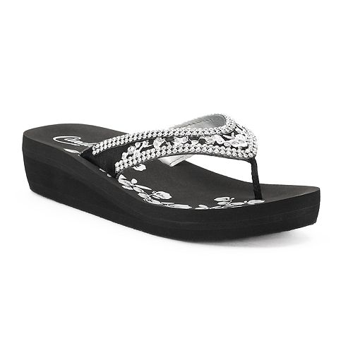 best wholesale free shipping hot sale Women's Candie's® Delilah ... Wedge Sandals wiki online comfortable cheap price go8pLph