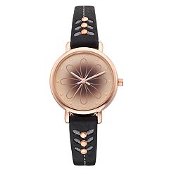 Women's Abstract Floral Watch