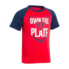 Boys 4-7 Under Armour 'Own The Plate' Baseball Graphic Tee