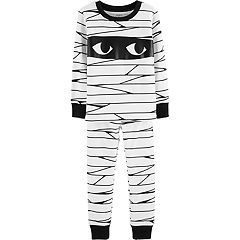 Baby Carter's Glow-In-The-Dark Halloween Mummy Pajama Set