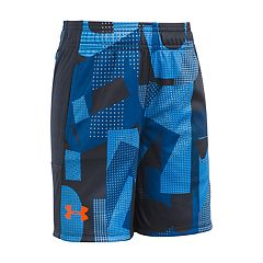 Boys 4-7 Under Armour Alpha Stunt Patterned Shorts