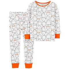 Toddler Girl Carter's Halloween Ghost Top & Bottoms Pajama Set