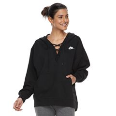 Women's Nike Sportswear Lace-Up Hoodie