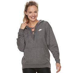Women's Nike Sportswear Lace-Up Hoodie