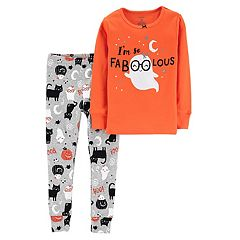 Toddler Girl Carter's 'I'm Fabulous' Halloween Ghost Top & Bottoms Pajama Set