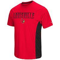 Men's Campus Heritage Louisville Cardinals Red Beamer II Tee