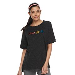 Women's Nike Sportswear 'Just Do It' Graphic Short Sleeve Top