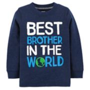 "Baby Boy Carter's ""Best Brother In The World"" Graphic Tee"