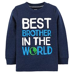 Baby Boy Carter's 'Best Brother In The World' Graphic Tee