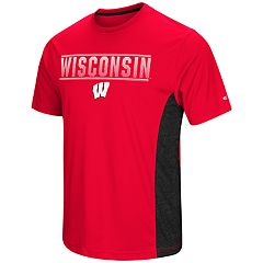 Men's Campus Heritage Wisconsin Badgers Red Beamer II Tee