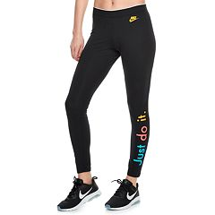 Women's Nike Sportswear Midrise 'Just Do It' Graphic Leggings