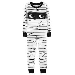 Toddler Carter's Glow-In-The-Dark Halloween Mummy Pajama Set