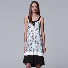 Women's Simply Vera Vera Wang High-Low Keyhole Chemise