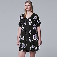 Plus Size Simply Vera Vera Wang Printed Sleepshirt