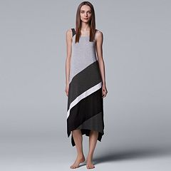 Women's Simply Vera Vera Wang Colorblock Maxi Chemise