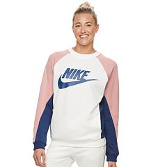 Women's Nike Sportswear Color-Block Crewneck Top