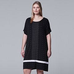 Plus Size Simply Vera Vera Wang Dot Sleepshirt