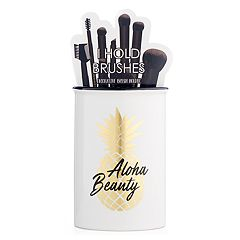 Simple Pleasures 'Aloha Beauty' Ceramic Brush Holder