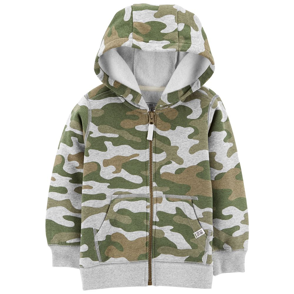 Baby Boy Carter's Camouflaged Zip Hoodie