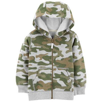 Baby Boy Carter's Camouflaged Zip Hoodie