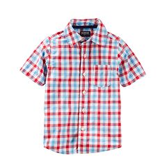 Boys 4-12 OshKosh B'gosh® Button-Up Shirt