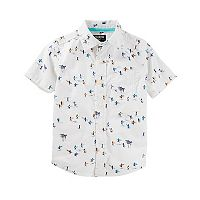 Boys 4-12 OshKosh B'gosh® Printed Button-Up Shirt