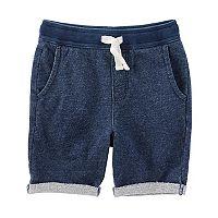 Boys 4-12 OshKosh B'gosh® Rolled French Terry Shorts
