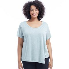 Plus Size Balance Collection Alice Scoopneck Tee