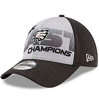Adult New Era Philadelphia Eagles 2017 NFC East Division Champions 9FORTY Adjustable Cap