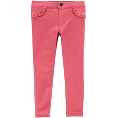 Baby Girl Carter's Ruffled Skinny Pants