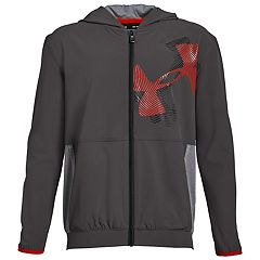 Boys 8-20 Under Armour Woven Warm-Up Jacket