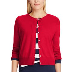 Women's Chaps Button-Front Cardigan