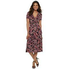 Women's Croft & Barrow® Surplice Dress