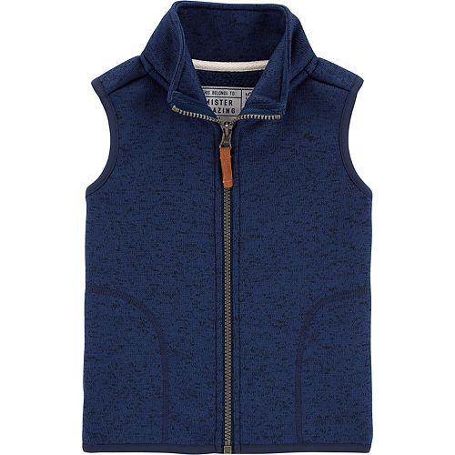 Baby Boy Carter's Fleece Vest